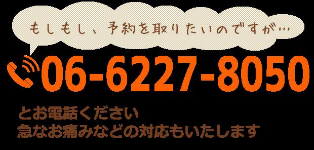電話06-6227-8050